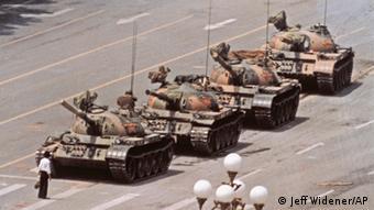 Tank Man, Copyright: Jeff Widener/Associated Press