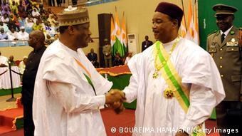 Mahamadou Issoufou und Hama Amadou (Foto: BOUREIMA HAMA/AFP/Getty Images)