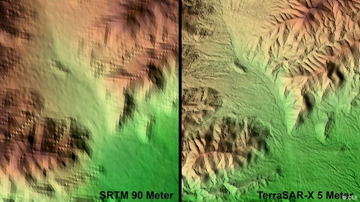 Bildergalerie Satellitenzwillinge TanDEM-X und Terrasar-X