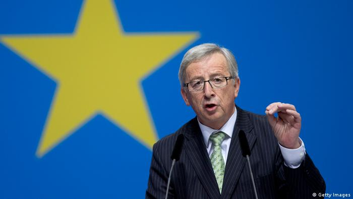 Jean-Claude Juncker in Berlin 05.04.2014