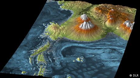 Bildergalerie Satellitenzwillinge TanDEM-X und Terrasar-X Atacama-Wüste Chile