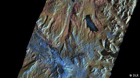 Bildergalerie Satellitenzwillinge TanDEM-X und Terrasar-X Vulkangebiet Puyehue-Cordón