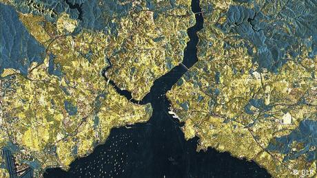 Bildergalerie Satellitenzwillinge TanDEM-X und Terrasar-X Istanbul