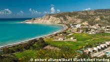 Bildergalerie EU Badegewässer Zypern Pissouri Bay