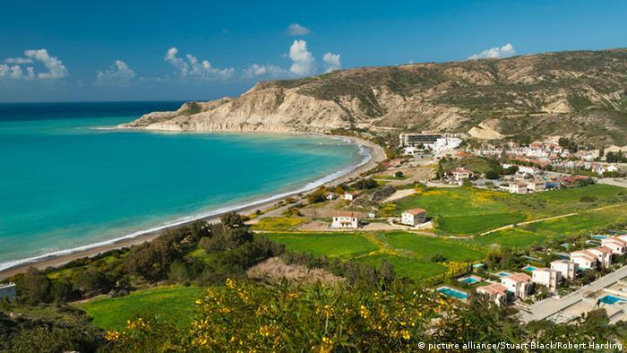 Pissouri Bay in Cyprus