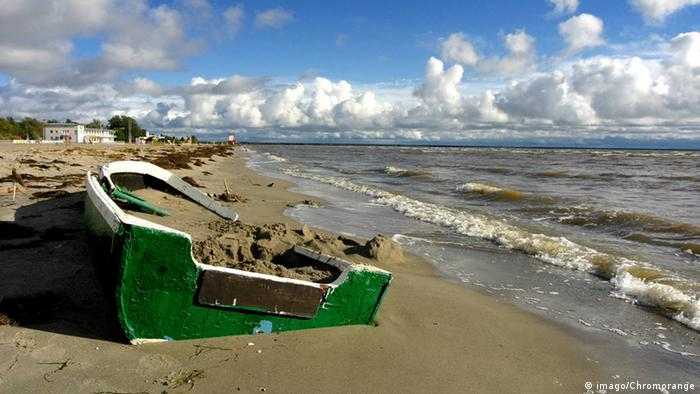 A coast along the Baltic Sea in Estonia