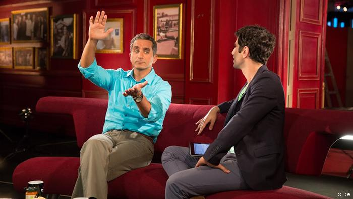 DW Interview mit Bassem Youssef
