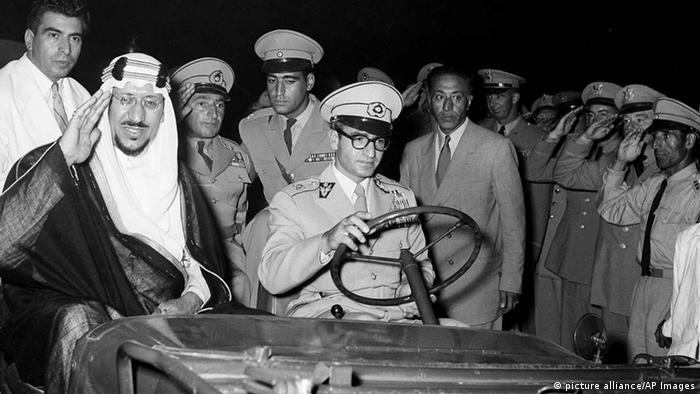 Saudi Arabien Schah Mohammed Resa 1955