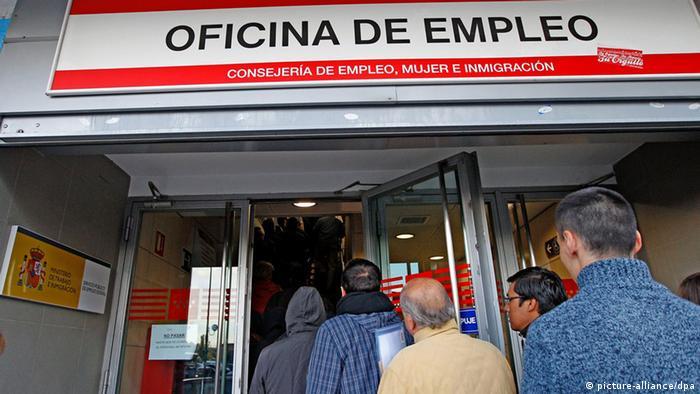 Symbolbild Arbeitslose in Spanien