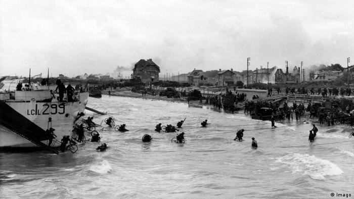 D-Day Landing Canadian soldiers