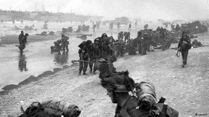 D-Day Landung Hussars White Beach (Imago)