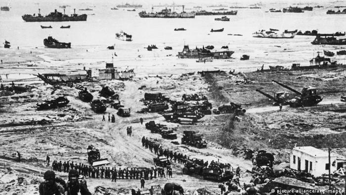D-Day Landung Normandie 1944 (picture-alliance/akg-images)