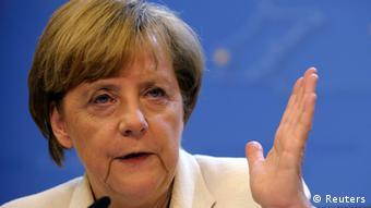EU Deutschland Angela Merkel in Brüssel Pressekonferenz