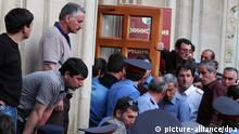 2439120 05/27/2014 Opposition supporters storm the office of Abkhazian President Alexander Ankvab in Sukhumi. The protesters demand resignation of the president, the government, prosecutor general and heads of three regional administrations in east Abkhazia. David Avidzba/RIA Novosti