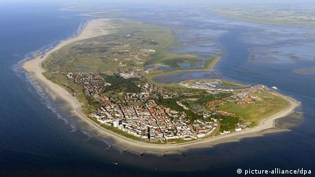 Luftaufnahme von Norderney