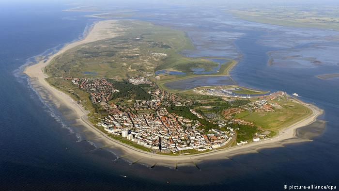 Norderney from the bird's-eye view (Photo: picture-alliance/dpa)