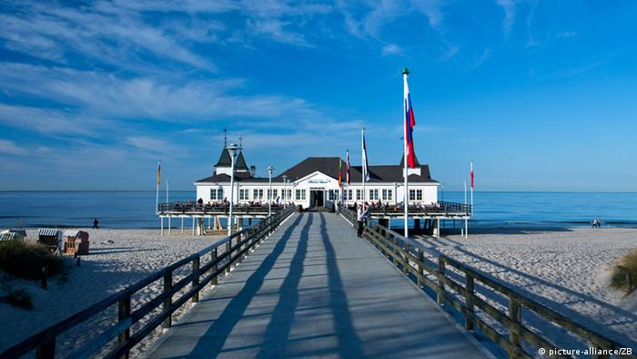 Pier in Usedom