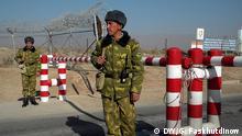 Tadschikistan Grenze Sicherheit Soldat