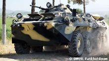 Tadschikistan Grenze Sicherheit Panzer