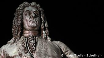 A bust of George Frideric Handel