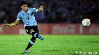 Interaktiver WM-Check 2014 Keyplayer Uruguay Suarez