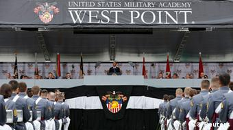 Obama Rede West Point Akademie Außenpolitik USA