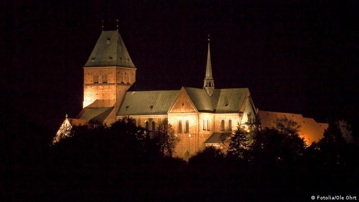 Ратцебургский собор ночью