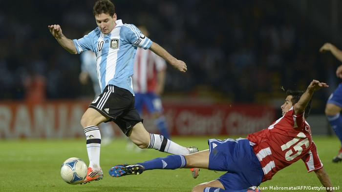 Interaktiver WM-Check 2014 Keyplayer Argentinien Messi