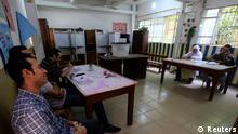 Ägypten Präsidentschaftswahlen leeres Wahllokal