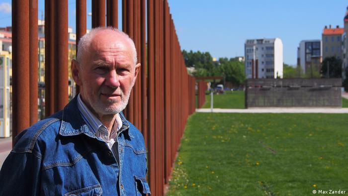 Joachim Rudolph, ex-fugitivo da Alemanha Oriental