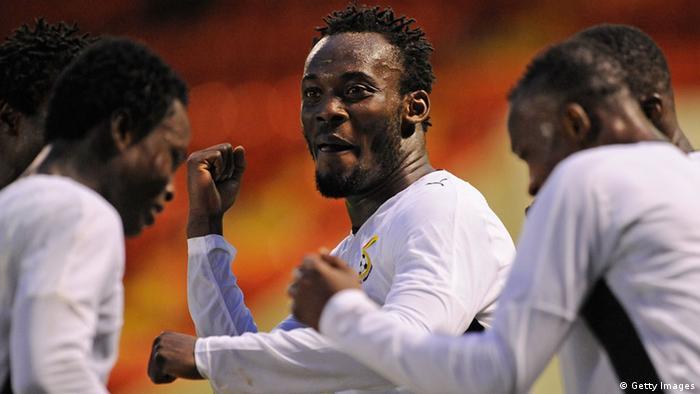 Interaktiver WM-Check 2014 Keyplayer Ghana Essien