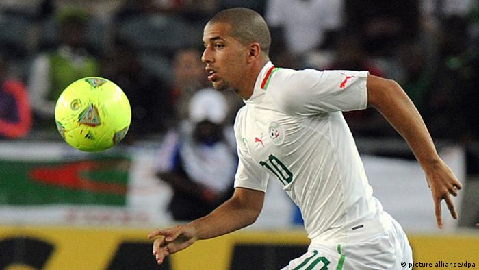 Interaktiver WM-Check 2014 Keyplayer Algerien Feghouli (picture-alliance/dpa)
