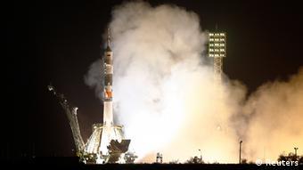 Sojus TMA-13M ins All gestartet 28.5.2014