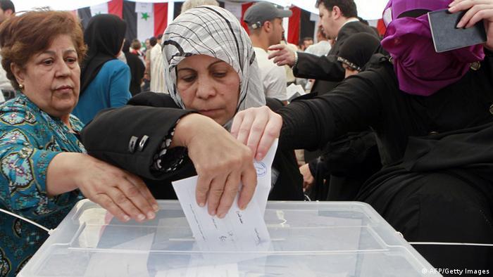 Выборы Сирии - надежда на мирную жизнь