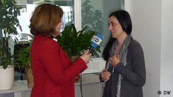 Në intervistë me gazetaren e DW-së, Mimoza Cika-Kelmendi