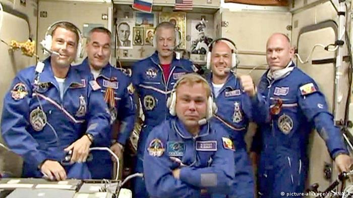 Alexander Gerst Ankunft auf der ISS 29.05.2014