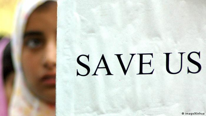 Symbolbild Gewalt gegen Frauen in Indien