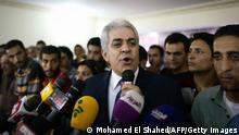 Präsidentschaftswahlen in Ägypten 29.05.2014 Hamdeen Sabbahi