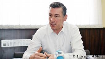 Albanien PDK Kadri Veseli Politker (Shpresim.M.Shala)