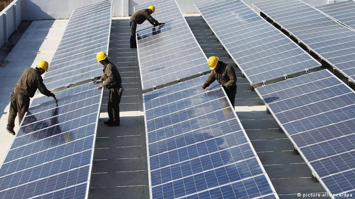 Solarpark in China