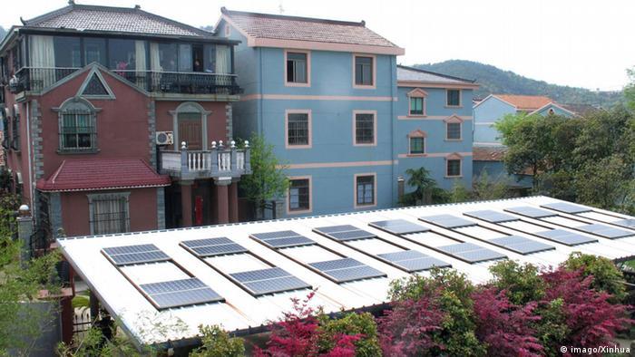 Dachanlagen Photovoltaik in China
