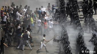 Anti-Terror-Übung in Peking 29.05.2014