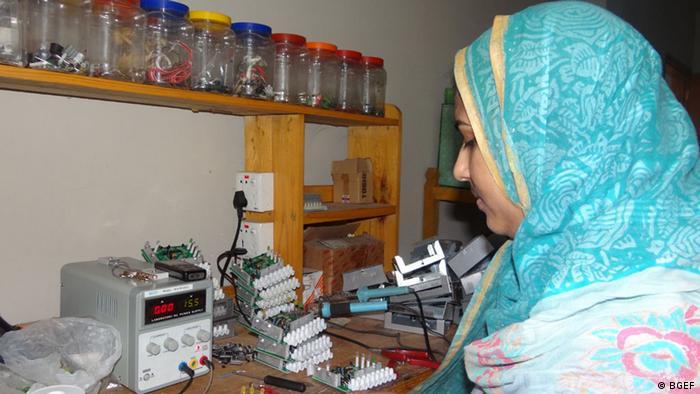 Solarenergie in Bangladesch Bright Green Energy Foundation