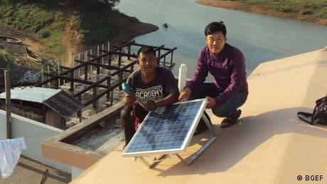 Solarenergie in Bangladesch Bright Green Energy Foundation China?