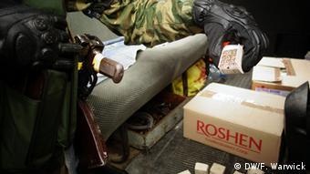 Бойовики і місцеві мешканці ще у травні пограбували вщент гіпермаркет Метро у Донецьку