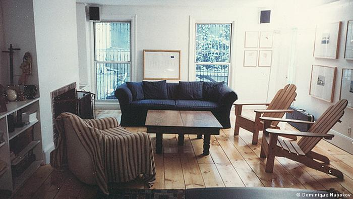 Philip Glass' living room in New York, photographed in 1998, Copyright: Dominique Nabokov