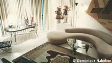 Das Wohnzimmer von Kunstsammlerin Barbara Jakobson, New York, December 1996. Copyright: Dominique Nabokov via Natalie Muller