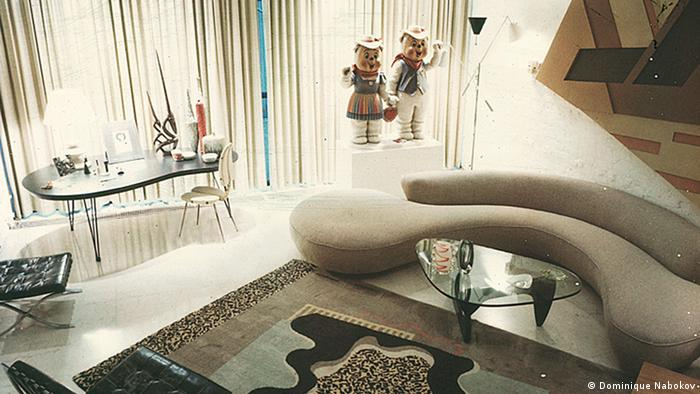 Barbara Jakobson's living room in New York, photographed in 1996, Copyright: Dominique Nabokov