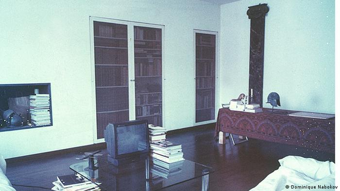 Yvonne Lambert's living room in Paris, photographed in 2002, Copyright: Dominique Nabokov