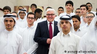 Deutschland Frank-Walter Steinmeier besucht Katar